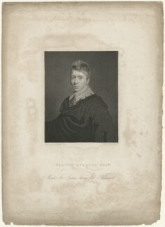 Walter Burrell, by Joseph John Jenkins, after  Ramsay Richard Reinagle - NPG D32450