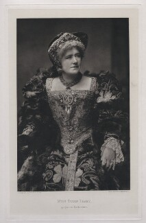 Ellen Terry as Queen Katherine in 'Henry VIII', by Swan Electric Engraving Co., after  Window & Grove - NPG x26817