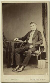 Joseph Warner ('J.W.') Henley, by Hills & Saunders - NPG Ax8559