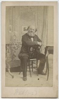 John Liptrot Hatton, by Herbert Watkins - NPG x15472