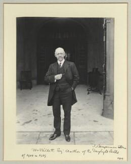 William Willett, by Benjamin Stone - NPG x45028