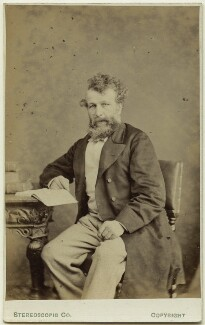 George Hammond Whalley, by London Stereoscopic & Photographic Company - NPG Ax28435