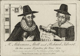 Richard Kilvert and William Abell, after Unknown artist, published by  William Richardson - NPG D28528