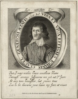 John Clavel, after William Marshall, published by  James Caulfield - NPG D28537