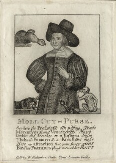 Mary Frith ('Moll Cutpurse'), after Unknown artist, published by  William Richardson - NPG D28538