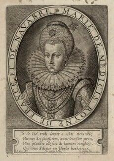 Marie de Medici of France, by Leonard Gaultier - NPG D28548