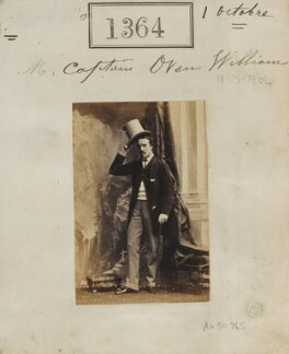 Owen Lewis Cope Williams, by Camille Silvy - NPG Ax50765