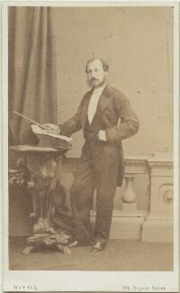 Louis Antoine Jullien, by Mayall - NPG x18965