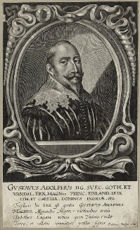 Gustavus Adolphus, King of Sweden, by Friedrich van Hulsen - NPG D28558