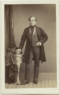 George William Fox Kinnaird, 9th Lord Kinnaird of Inchture and 1st Baron Kinnaird of Rossie, by James Valentine - NPG Ax7434