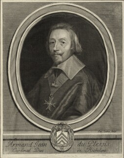 Cardinal Richelieu, by Jacques Lubin - NPG D28580