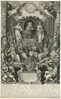Frederick Henry, Prince of Orange, Count of Nassau, by Simon de Passe, published by  Cornelis Danckerts - NPG D28582