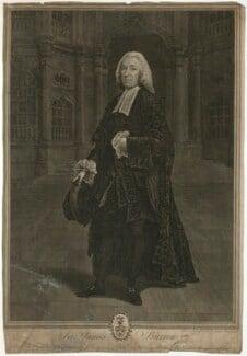 Sir James Burrow, by James Basire, after  Arthur Devis - NPG D32453