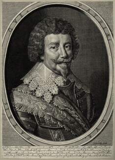Frederick Henry, Prince of Orange, Count of Nassau, by Crispijn de Passe the Elder - NPG D28586