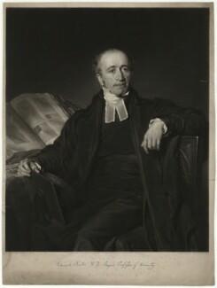 Edward Burton, by Henry Cousins, after  Philip Corbet - NPG D32456