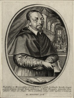 Pierre de Bérulle, published by Balthasar Moncornet - NPG D28595