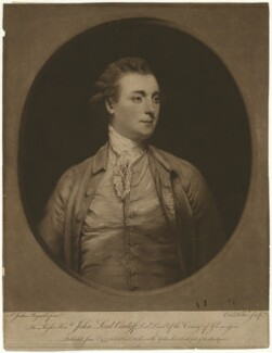 John Stuart, 1st Marquess of Bute, by and published by Edward Fisher, after  Sir Joshua Reynolds - NPG D32466