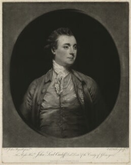 John Stuart, 1st Marquess of Bute, by Edward Fisher, published by  William Humphrey, after  Sir Joshua Reynolds - NPG D32467