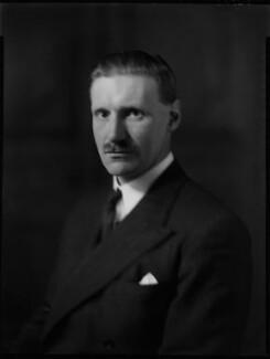 Henry James Scrymgeour-Wedderburn, 11th Earl of Dundee, by Bassano Ltd - NPG x152459