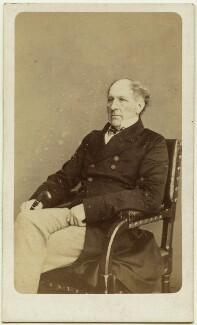 (John) Evelyn Denison, 1st Viscount Ossington, by W. & D. Downey, 1865 - NPG Ax8556 - © National Portrait Gallery, London