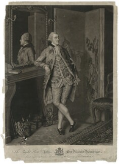 John Stuart, 1st Marquess of Bute, by John Raphael Smith, after  Jean Etienne Liotard - NPG D32469