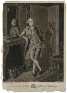 John Stuart, 1st Marquess of Bute, by John Raphael Smith, after  Jean Etienne Liotard, published 1774 - NPG D32469 - © National Portrait Gallery, London