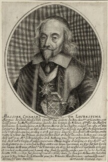 Charles de L'Aubespine, possibly by Jean Daret IV - NPG D28599