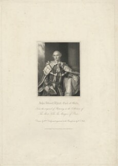 John Stuart, 3rd Earl of Bute, by W.T. Mote, after  William Derby, after  Allan Ramsay - NPG D32471