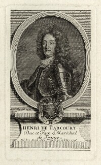 Henri de Lorraine, Count de Harcourt, by François Chéreau the Younger, after  Hyacinthe Rigaud - NPG D28604
