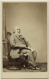 James Sheridan Knowles, by John Douglas - NPG Ax7529