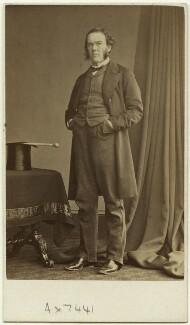 George William Lyttelton, 4th Baron Lyttelton, by Frederick Richard Window - NPG Ax7441