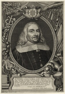 Stephen de Gamarra, by Cornelis Meyssens, after  Johannes Meyssens - NPG D28607