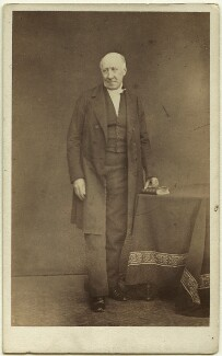 Augustus Frederick Fitzgerald, 3rd Duke of Leinster, by Thomas Cranfield, 1860s - NPG Ax7417 - © National Portrait Gallery, London