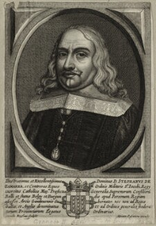 Stephen de Gamarra, by Cornelis Meyssens, published by  Adriaen Posemiers - NPG D28608
