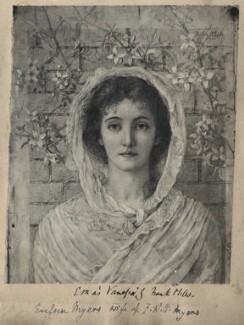 Eveleen Myers (née Tennant) as Vanessa, after a drawing by Frank Miles - NPG Ax68345