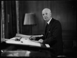 Sir Giles Gilbert Scott, by Bassano Ltd - NPG x152483