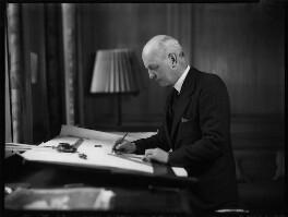 Sir Giles Gilbert Scott, by Bassano Ltd - NPG x152484