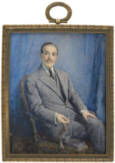 Joseph Duveen, Baron Duveen, by Dorothy Elaine Vicaji, 1920s? - NPG 6499 - © reserved; collection National Portrait Gallery, London