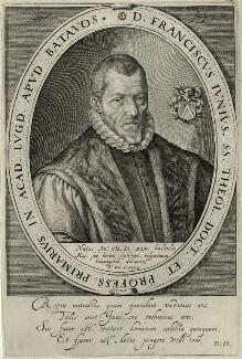 Franciscus Junius the Elder, by Theodor Matham - NPG D28624