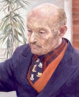Sir Sigmund Sternberg, by Valerie Wiffen - NPG 6500