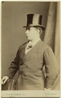 (Thomas) Edward Corrie Burns Righton, by London Stereoscopic & Photographic Company - NPG Ax28519