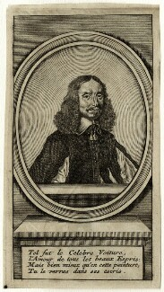 Vincent Voiture, possibly by Jacques Lubin, mid to late 17th century - NPG D28634 - © National Portrait Gallery, London
