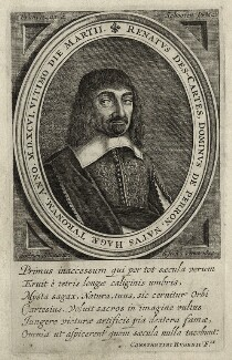 René Descartes, by Franciscus van Schooten - NPG D28636