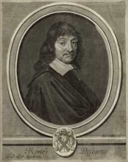 René Descartes, by Jacques Lubin, after  Frans Hals, late 17th century (1649) - NPG D28637 - © National Portrait Gallery, London