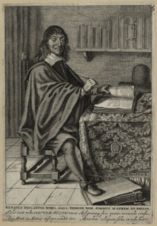 René Descartes, after Unknown artist - NPG D28638