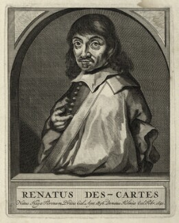 René Descartes, after Unknown artist - NPG D28639
