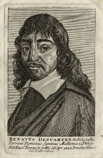 René Descartes, after Unknown artist - NPG D28642