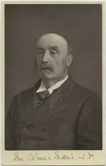 Sir Lewis Morris, by W. & D. Downey - NPG x21418