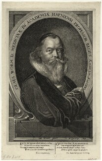 Ole Worm (Olaus Wormius), by G. Wingendorp, after  Karel van Mander III - NPG D28643