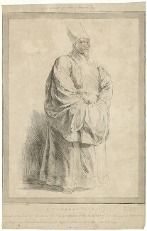 A Siamese Priest, by William Baillie, after  Sir Peter Paul Rubens - NPG D28644